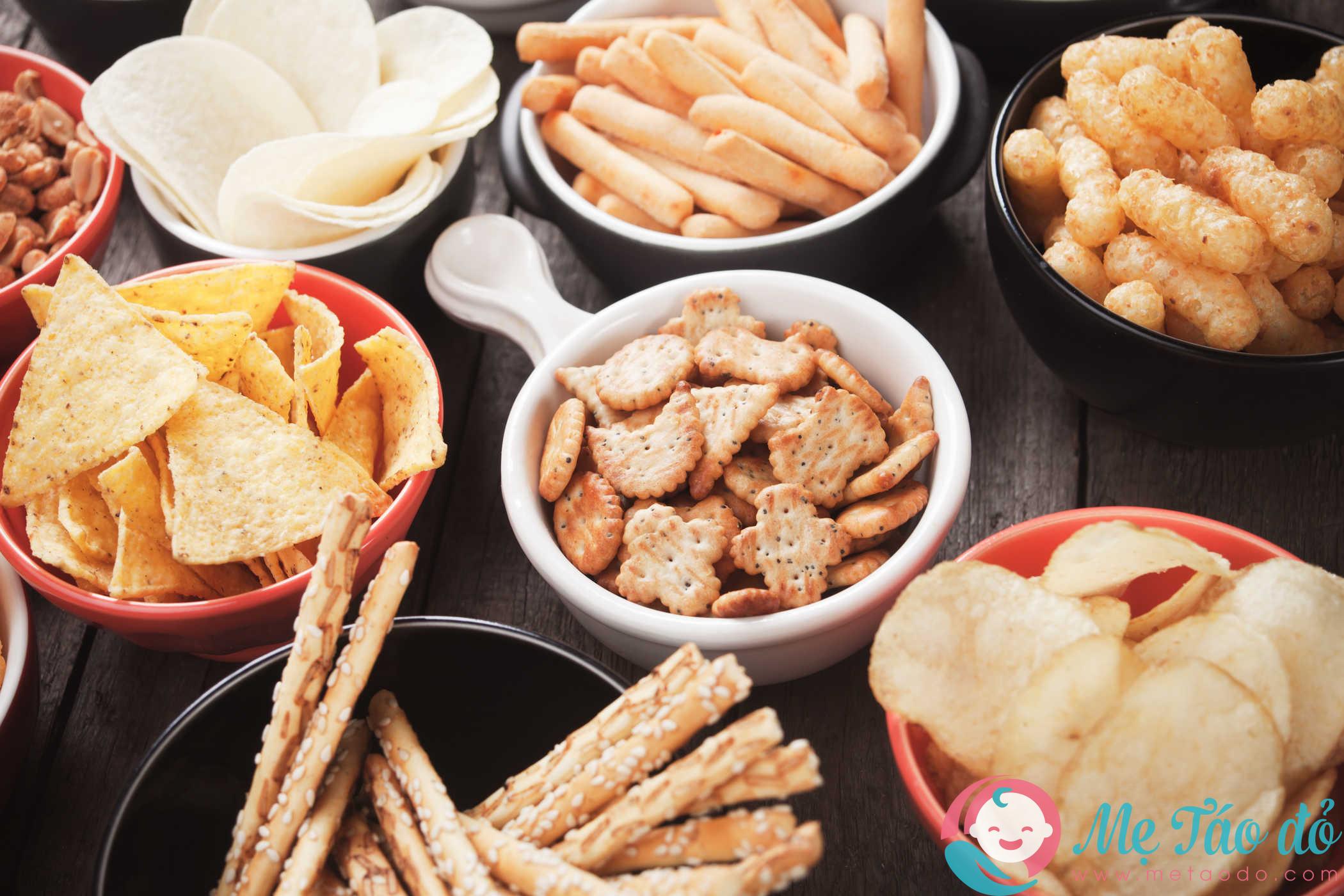 Chuẩn bị cho mẹ một số món ăn vặt tốt cho sức khỏe