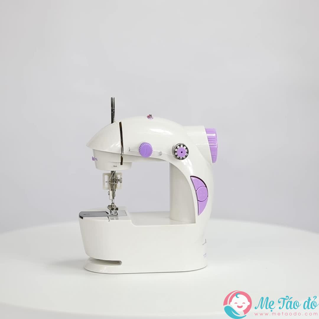 Một chiếc máy may mini sẽ giúp các mẹ bầu thêu thùa thoải mái mọi lúc