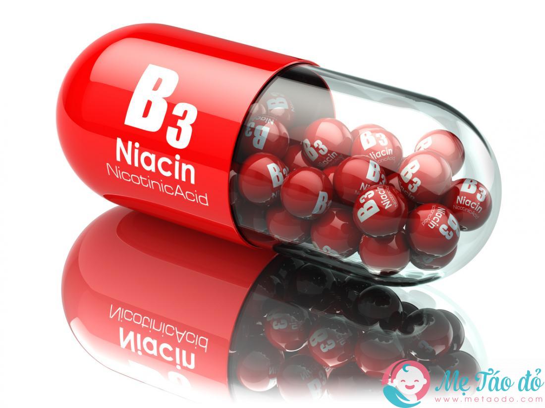 Tác dụng của vitamin B3 cho phụ nữ mang thai