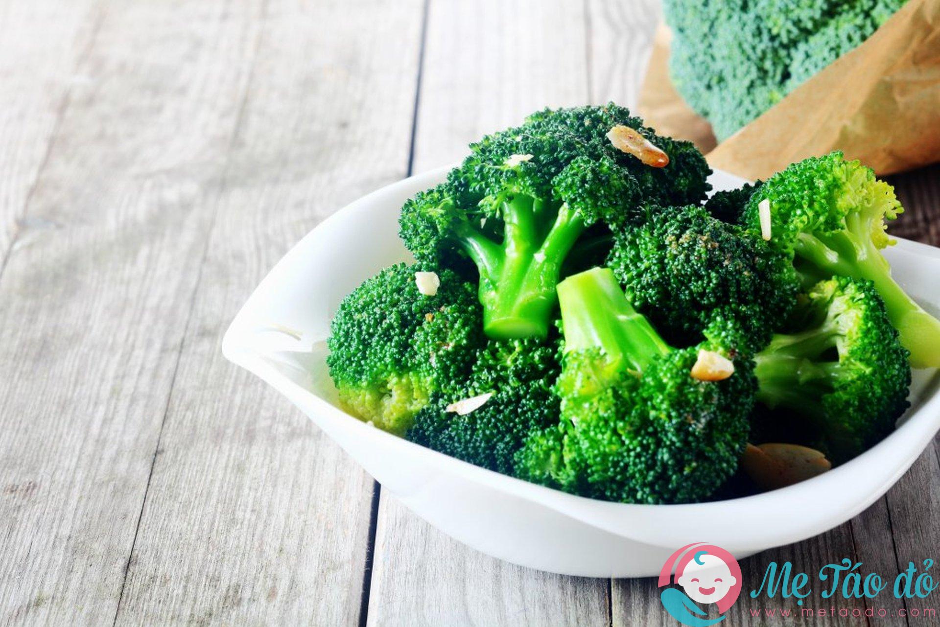 Gợi ý cách nấu bông cải xanh trong ăn dặm kiểu Nhật
