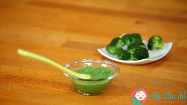 Cách nấu súp bông cải cho trẻ ăn dặm kiểu Nhật