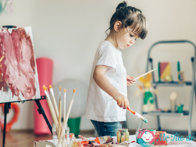 hoạt động cho trẻ tại nhà